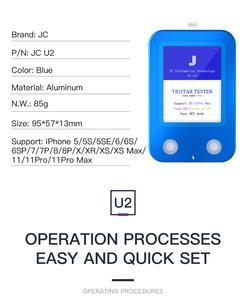 Image 5 - JC U2 szybki detektor dla iPhone U2 ładowanie IC błąd szybki Tester SN numer seryjny detektor czytnik dla niepełnosprawnych ID kodu