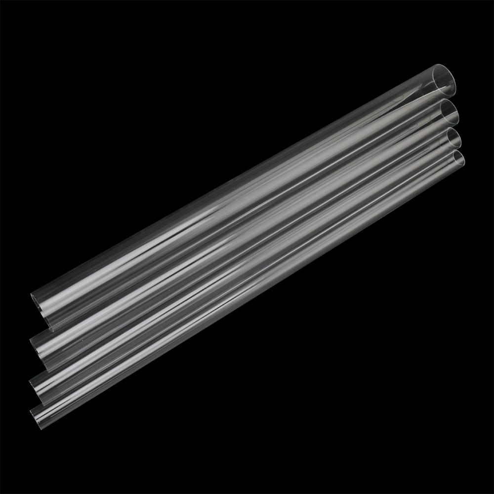 20/25/32/40mm Acrylic Pipe High Transparent Organic Glass Tube Length 48~50cm Fish Tank Aquarium Garden Irrigation Pipe Fittings