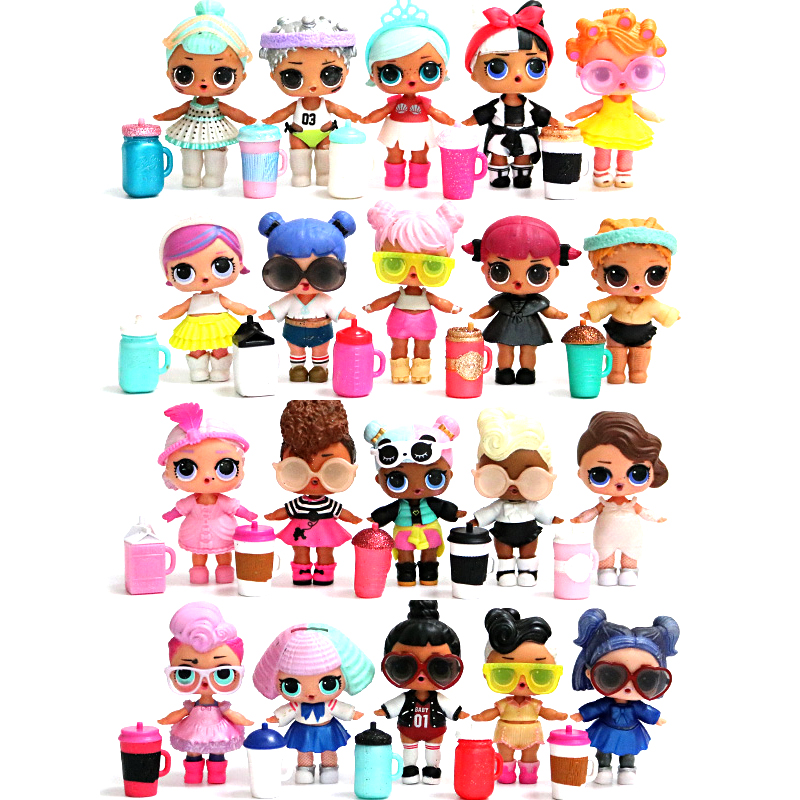 8CM L.O.L.SURPRISE! Lols Dolls Toys Surpris L.o.l Dolls Generation DIY Manual Blind Box Model Doll Baby Girl Kids Gift Hot Toys