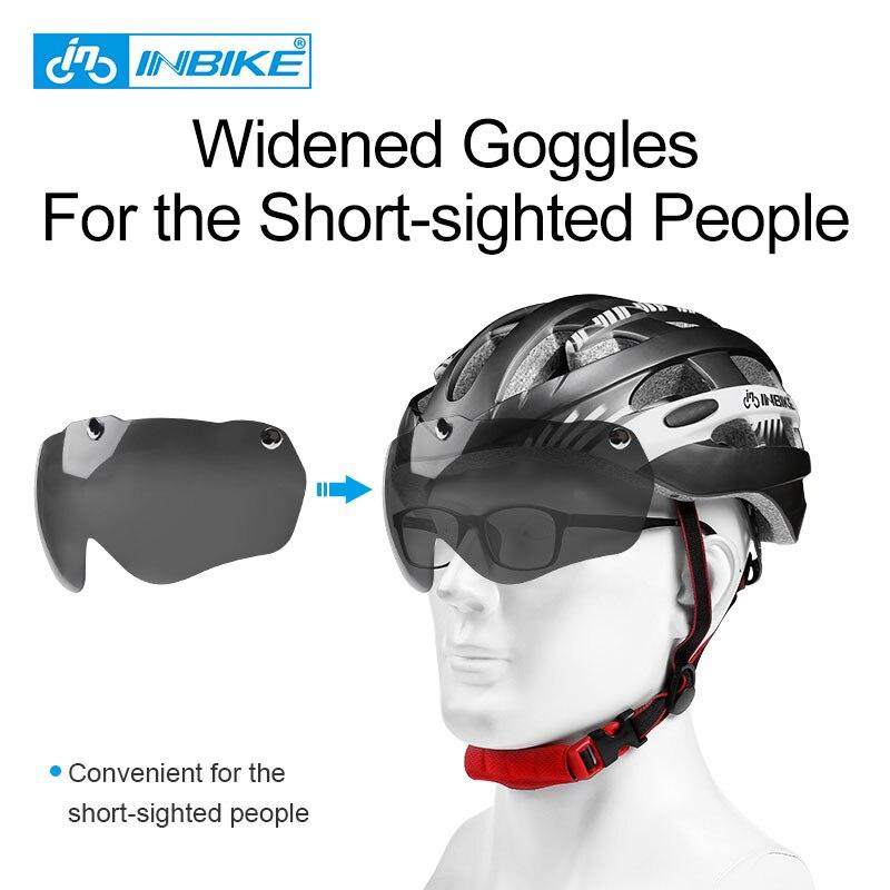 INBIKE Велоспорт Шлем Сверхлегкий велосипед шлем Для мужчин горная дорога Для женщин MTB ветрозащитные очки велосипедный шлем Casco Ciclismo MX-3