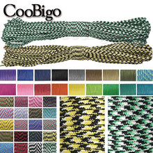3mm 30 M 100 M Paracord Lanyard Parachute Cord for DIY Bracelet Climbing Hiking Rope Camping Clothesline Accessories