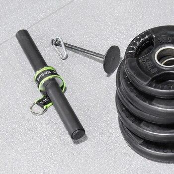 PG Gym Fitness Forearm Trainer Strengthener Hand Gripper Strength Exerciser Weight Lifting Rope Waist Roller Fitness Equipment 6