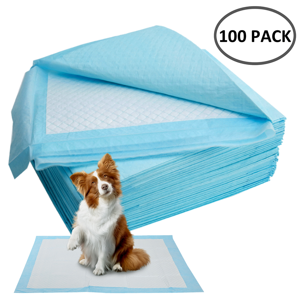 50/100pcs Super Absorbent Dog Training Pee Pads Pet Diaper Disposable Healthy Clean Nappy Mat For Pets Dairy Diaper Supplies