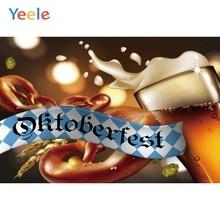 Yeele Oktoberfest Carnival Bokeh Lights Breaks Beer Photography Backdrops Personalized Photographic Backgrounds For Photo Studio