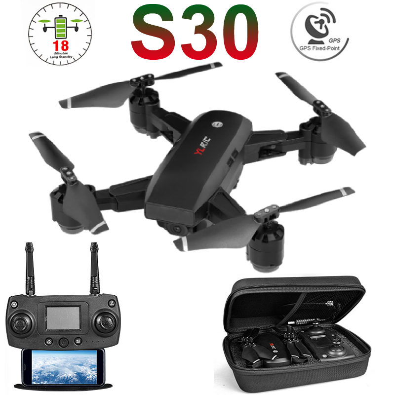 S30 5G GPS WiFi FPV <font><b>RC</b></font> Drone with 1080P HD Camera Altitude Holding Positioning Wide Angle Foldable Helicopter Quadrocopter Toys image