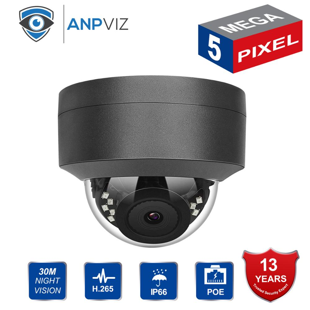 2019 New Compatible With Hikvision 5MP Security Camera Outdoor 5 MP Video Surveillance Dome POE IP Cameras HD