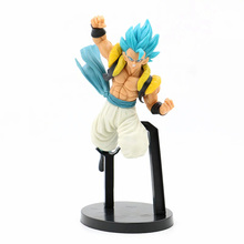 Dragon Ball SUPER Super Saiyan Son Goku Z Battle PVC Action Figure Anime DBZ Blue Hair Gogeta Collectible Model Toys For Kids