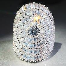 Женское кольцо с цирконом 21 карат обручальное для влюбленных