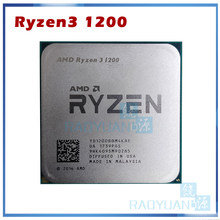 Amd ryzen 3 1200 r3 1200 3.1 ghz quad-core processador cpu quad-thread yd1200bbm4kae soquete am4