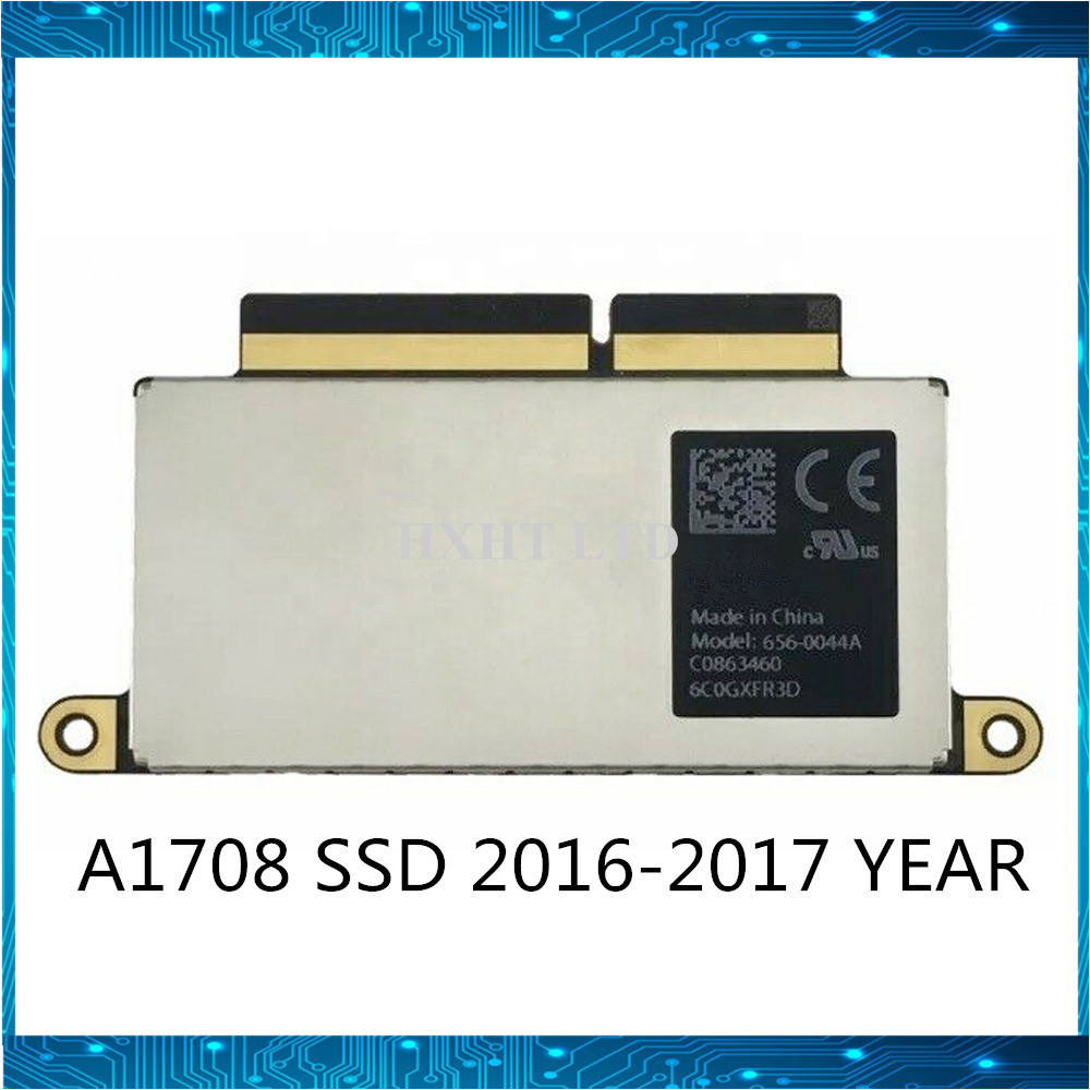 "A1708 SSD 128GB 256GB 512GB 1TB For Macbook Pro Retina 13.3"" A1708 Solid State Disk PCI-E EMC 3164 EMC 2978 2016 2017 YEAR(China)"