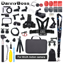 for Xiaomi MIJIA Accessories Kit Head Chest Strap Suction Cup Frame Box Tripod Mount Monopod for MIJIA Sport Camera