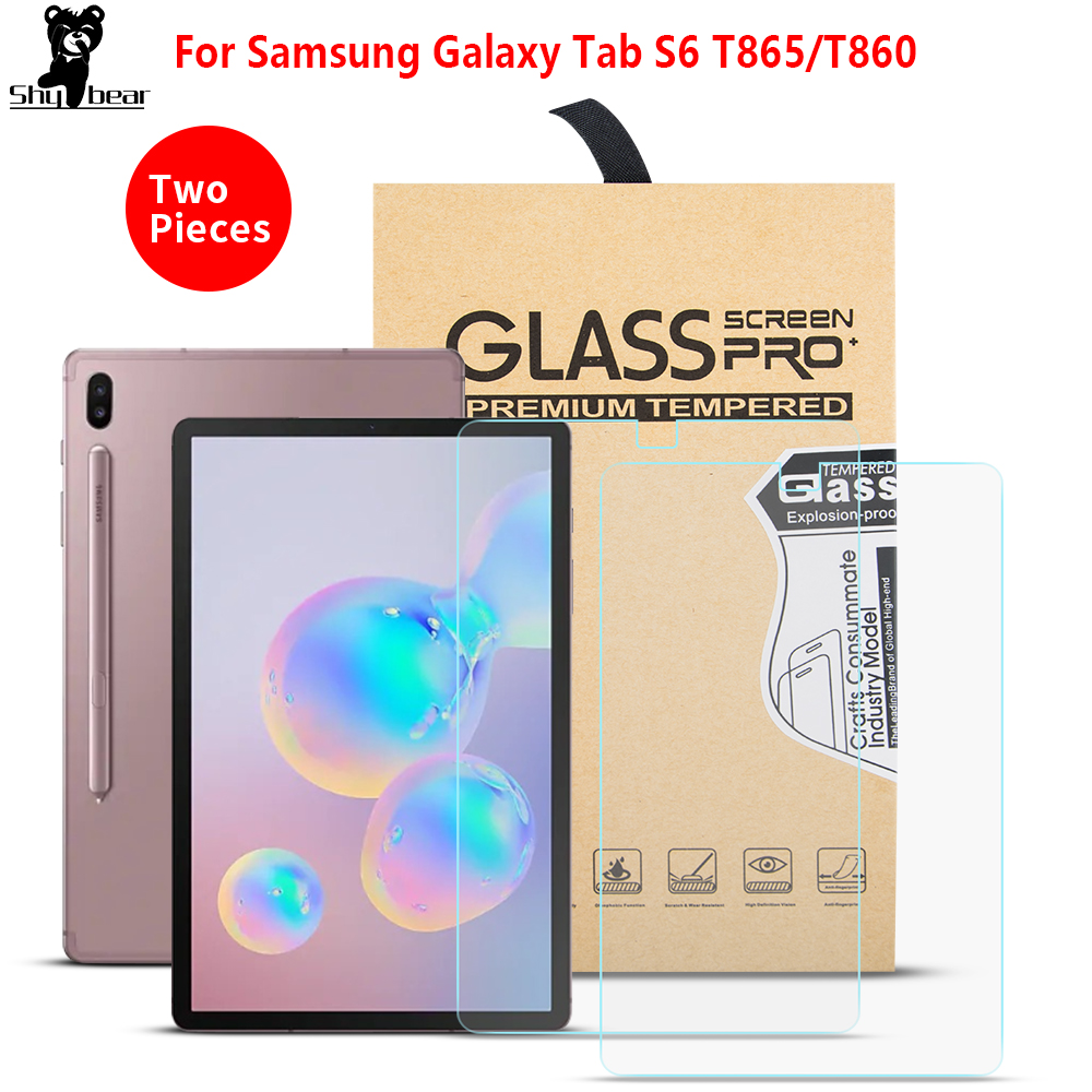 Screen Protector For Samsung Galaxy Tab S6 10.5 T860 T865 SM-T860 SM-T865 Tempered Glass Protective Film Tempered Guard