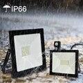 10 Вт 20 Вт 30 Вт 50 Вт 100 Вт индукционный Светодиодный прожектор с регулируемым PIR датчиком SMD 2835 прожектор Наружное освещение для уличного квадр...