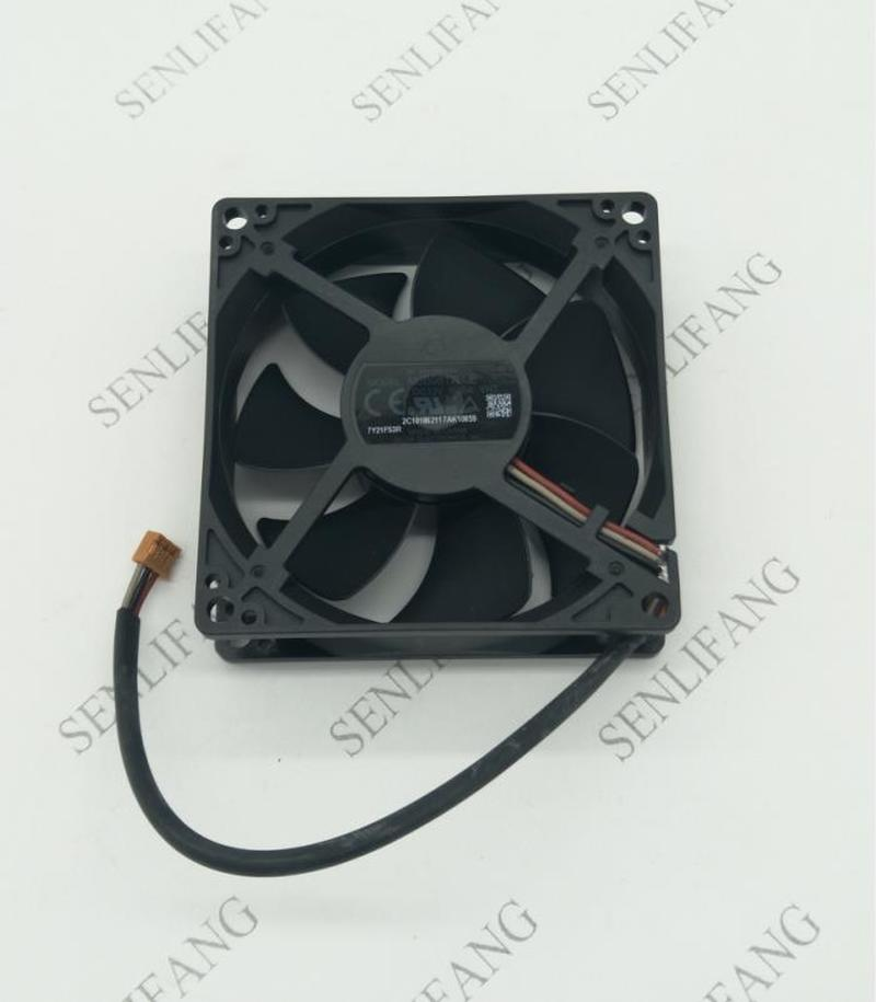 Free Shipping Original AUB0812H-E YNZ 8cm 8025 12V 0.3A 8CM 3 Wire Projector Axial Cooling Fan