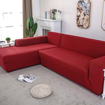 Sofa pokrywa jednolity poszewki Sofa kolor narzuty Sofa dla sofa ręcznik salon meble ochronne fotel kanapy sofa 1 2 3 4 tanie i dobre opinie LIPEI Drukowane 100 poliester Nowoczesne SFT-074 Rozkładana okładka 1 2 3 4 Stałe Sofa przekroju