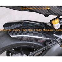 for Yamaha MT 09 FZ 09 FZ09 MT09 MT FZ 09 2014 2017 Motorcycle Carbon Fiber Rear Fender Mudguard Fender