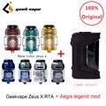 Оригинальный Geekvape Zeus X RTA с 810 Delrin капельным наконечником и aegis legend mod электронная сигарета распылитель vs zeus rta zeus dual