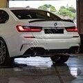 Стильный задний спойлер на багажник из углеродного волокна для BMW new 3 series 320i 330i 335i 340i 2019 2020 года G20 спойлер крыло