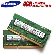 Laptop Memory Notebook-Module 1RX8 Sodimm-Ram Ddr3 4gb 1600mhz Pc3 12800s SAMSUNG