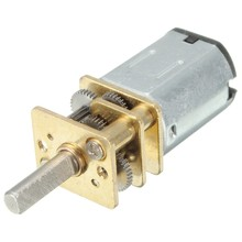 DC 12V 300 Rpm Mini Metal Gear Motor dengan Gear Shift Model: N20 3 Mm Diameter Poros(China)
