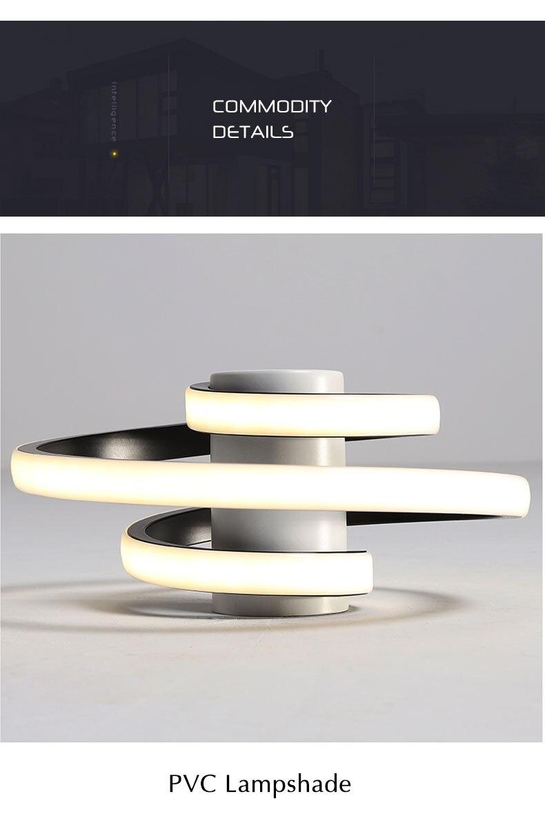 moderna luz de teto led lustre quarto