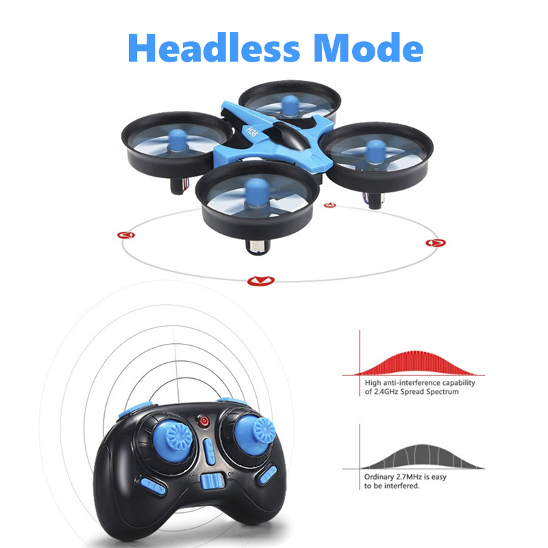 JJRC H36 RC Mini Drone Helicopter 4CH Toy Quadcopter Drone Headless 6Axis One Key Return 360 degree Flip LED rc Toys VS H56 H74 4