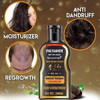 200ml Natural Shampoo Deepen Color Shampoo Gentle Anti-dandruff Nourishing Shampoo Hair Loss Treatment Dark Hair Shampoo фото