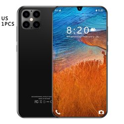 IP12 Smart 6.5 Inch Hd-scherm 1Gb 8Gb 24MP Front Camera Sterke 8 Core High-Performance Processor telefoon
