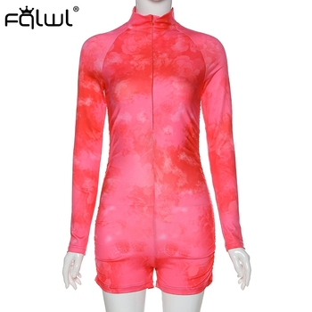 Tie Dye Print Jumpsuit 5