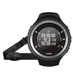 GPS HRM Heart Rate Monitor Sport Fitness Watch Outdoor Hiking Running Sport Calories Pedometer Bluetooth 4.0 Smart Sports Watch
