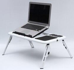 Wielofunkcyjny stół do sypialni łóżka Notebook małe biurko stół piknikowy łóżeczko na laptopa ze składaną nogą meble do domowego biura LF715