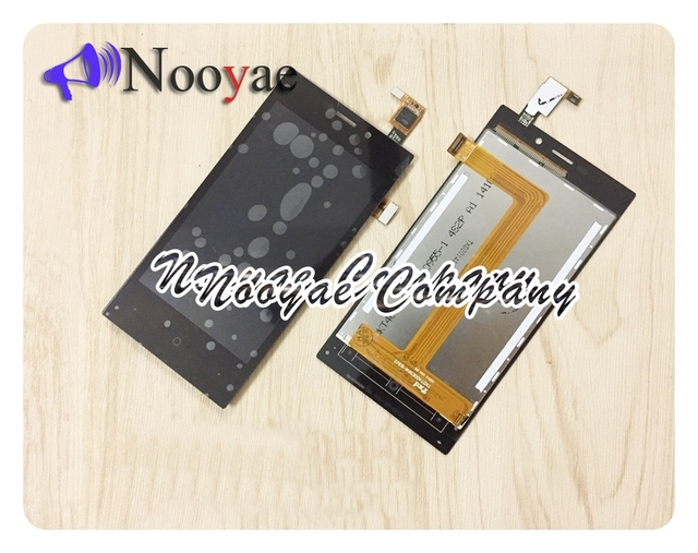 For Highscreen Zera F rev.S LCD Display Screen Touch Digitizer Sensor Glass Panel LCD Full Assembly Parts Sensor + tracking