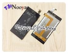 עבור Highscreen זרע F rev. S LCD תצוגת מסך מגע Digitizer זכוכית חיישן פנל LCD מלא עצרת חלקי חיישן + מעקב