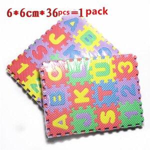 Image 5 - 36個ロシアアルファベット赤ちゃんのおもちゃ泡のパズルマットeva教育クロールマットカーペット早期教育床マット
