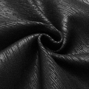 Image 5 - Vc tudo frete grátis quente duas peças halter óleo impressão sem mangas sexy oco para fora v pescoço celebridade festa bandagem vestido conjunto