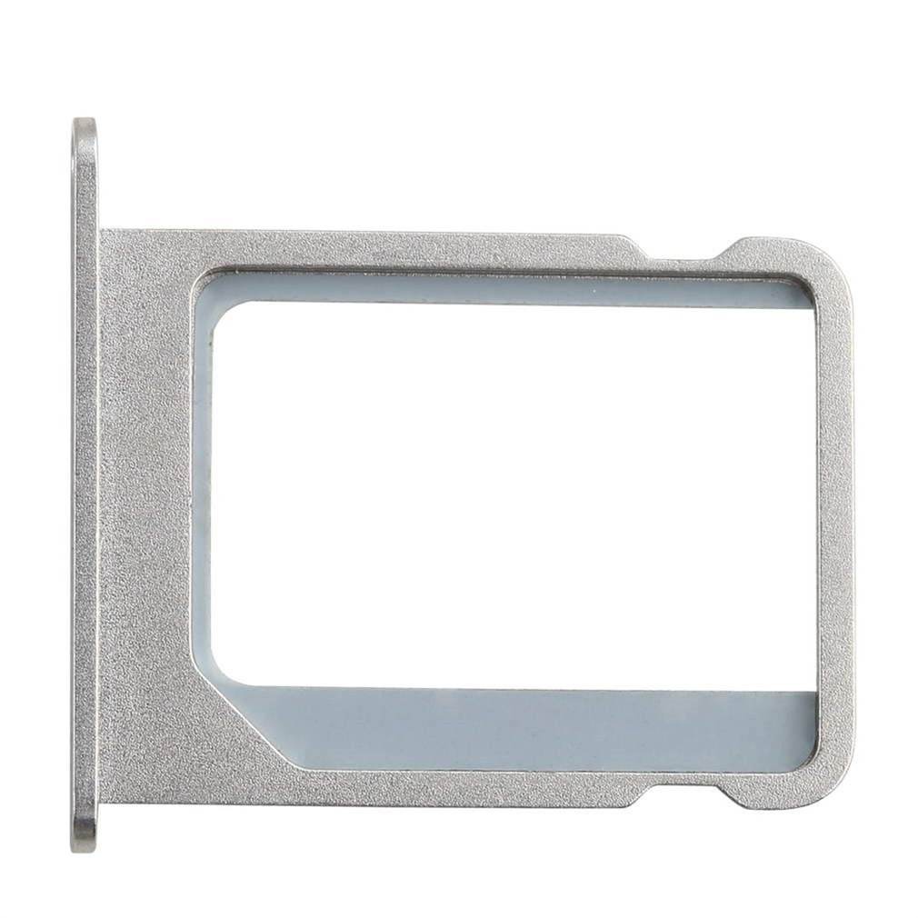 50Pcs/lot Silver Metal Micro SIM Card Tray Holder Slot Replacement for Apple for iphone 4 4G 4S 4th