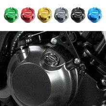 Ducati 스크램블러 Sixty2 1100 아이콘 등 오토바이 엔진 오일 캡 볼트 나사 필러 커버