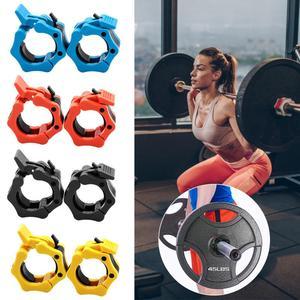 1 пара, 2 дюймовые ошейники для штанги, зажимы для штанги, зажим для тяжелой атлетики, оборудование для фитнеса