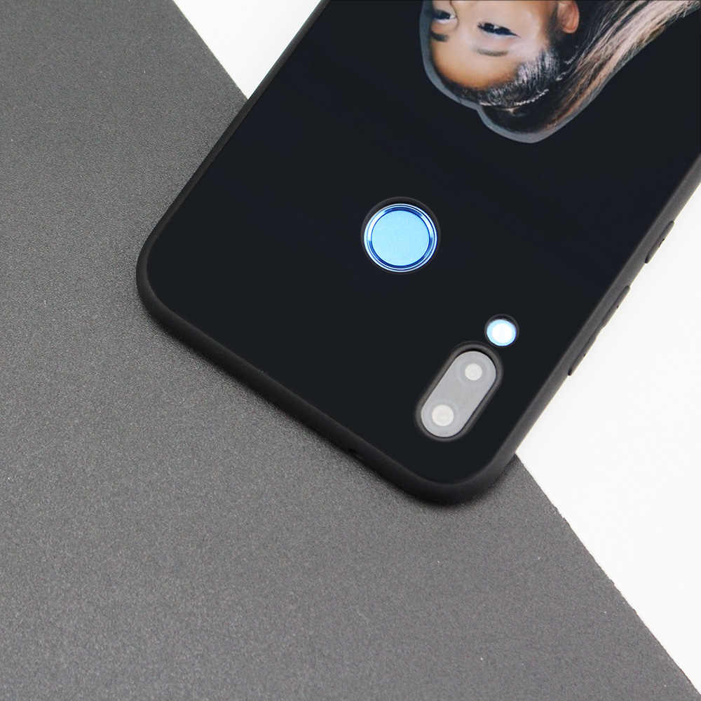 黒シリコンケース Huawei 社 P30 P20 P10 P9 メイト 10 20 Lite 2017 注 5 5i Pro の P スマートプラス 2019 シェルアリアナグランデ