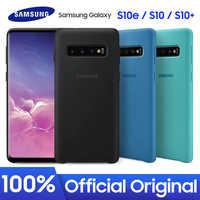 SAMSUNG S10 Più Il Caso Originale Della Copertura Del Silicone Made in China Sito Ufficiale Versione di Samsung Galaxy S10 S10e Più Il Caso Originale