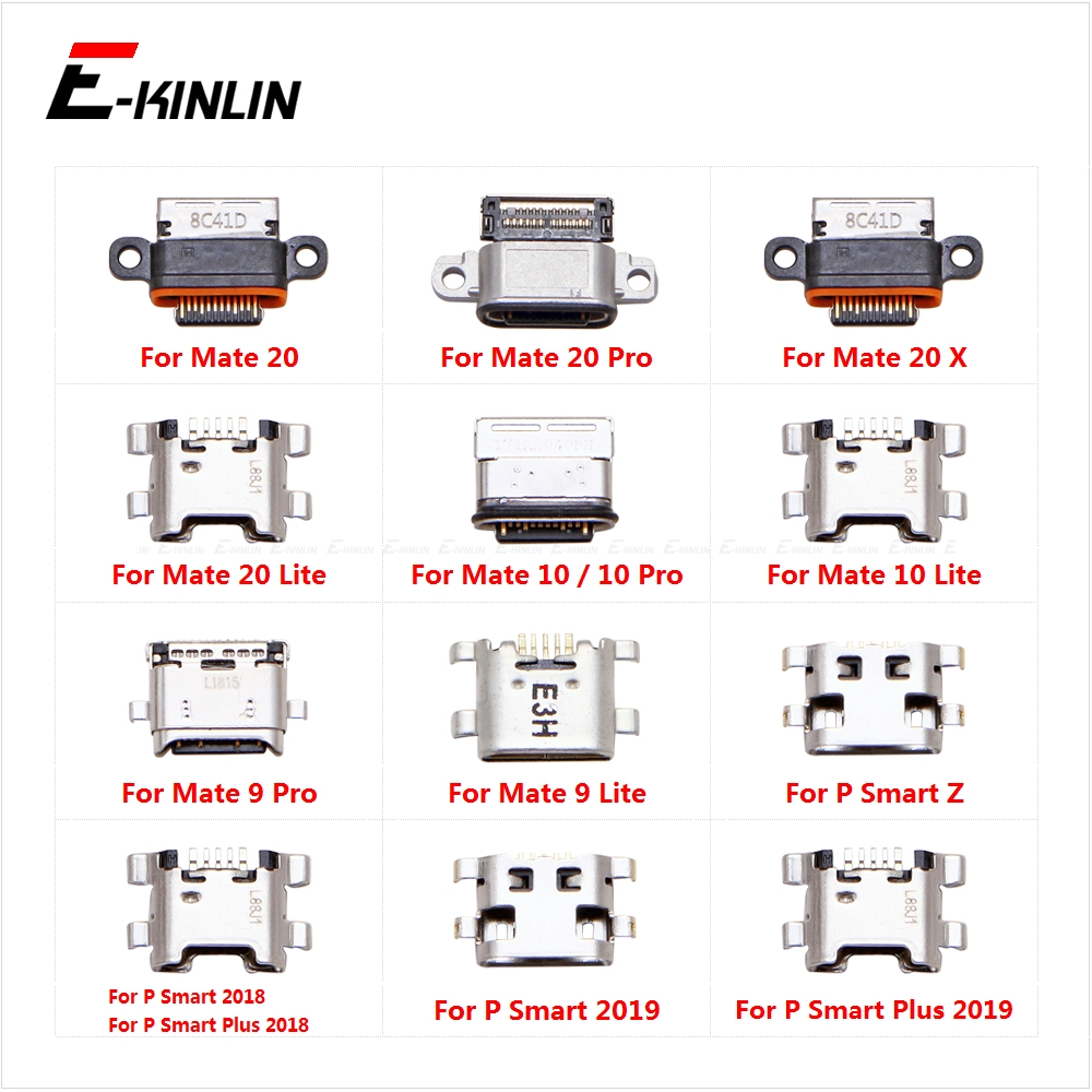 Type-C Charge Charging Plug Dock Micro USB Jack Connector Socket Port  For HuaWei Mate 20 X 10 9 Lite Pro P Smart Z Plus 2019