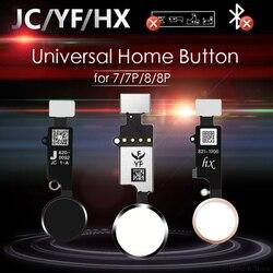 JC/Meibi 5th YF HX 3rd Gen العالمي زر المنزل آيفون 7 7G 8 8G زائد القائمة لوحة المفاتيح العودة على قبالة وظيفة لا معرف اللمس