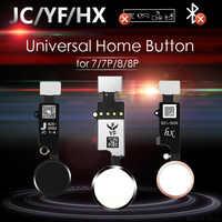JC/Meibi 5th YF HX 3rd Gen bouton d'accueil universel pour iPhone 7 7G 8 8G Plus clavier de Menu fonction de retour On Off pas d'identification tactile