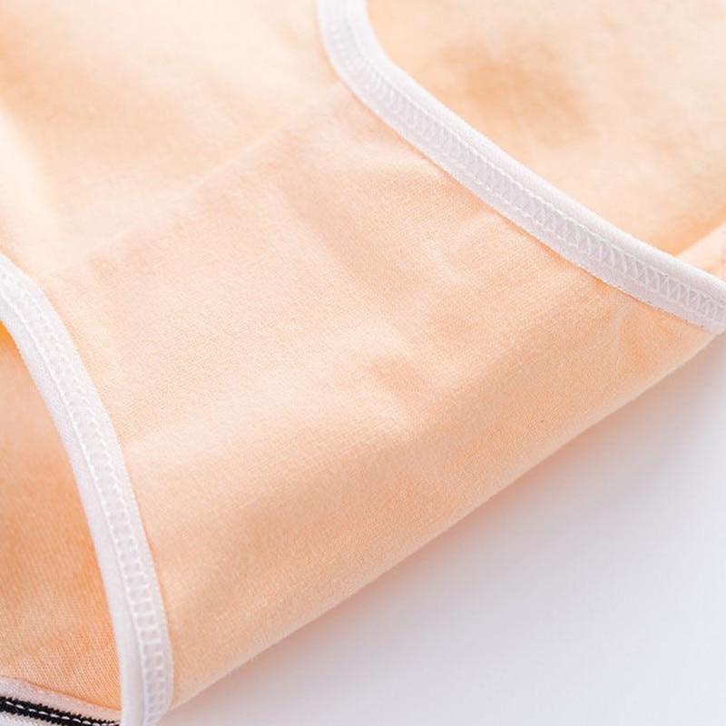 4pcs/Lot Girls Panties Lace Underwear for Teens 12-18 Years Children Cotton Lingerie Underpants 5