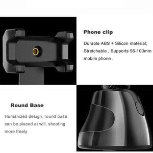 Image 5 - Apai gimba 360 ° selfie tiro cardan rosto objeto de rastreamento selfie vara auto suporte de rastreamento para vlog tiktok youtube ao vivo mostrar