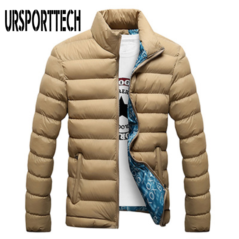 Quality Winter Jacket Men 2019 Fashion Stand Collar Male Parka Jacket Mens Solid Thick Jackets And Coats Man Winter Parkas M-4XL