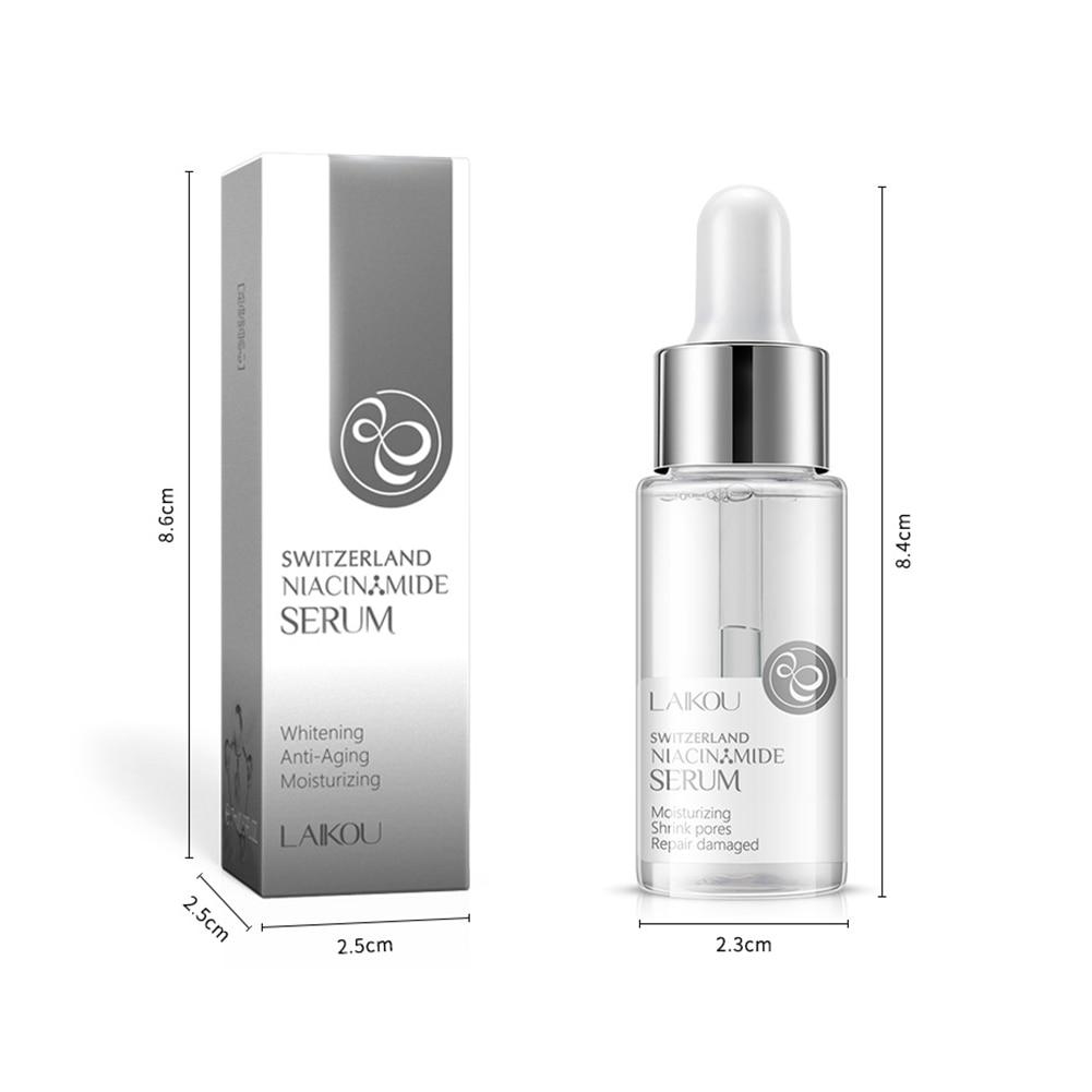 17ml 24k Gold Whitening Vitamin C Face Serum Japan Essence Hyaluronic Acid Pure Skin Care Face Serum