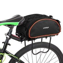 Lixada велосипедная сумка 13л, многофункциональная велосипедная сумка на заднее сиденье, уличная Сумка на багажник, сумка на заднее Велосипедное Сиденье, горный велосипед, ciclismo