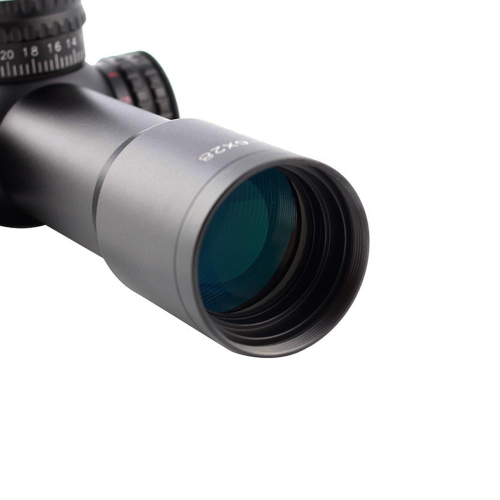 Spina tactical borda fina riflescope 1-6x28 vistas