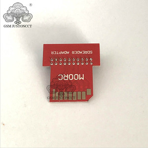Image 3 - original new moorc sdreader adapter pcb for E mate pro box / for ic friend x 13 in 1 / for emate socket  / for emmc socket ...